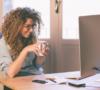 Rugklachten tegen gaan bij werken op kantoor